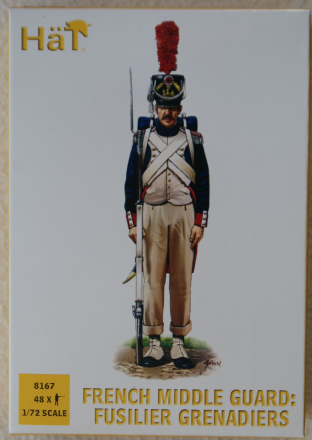 HaT 1/72 HAT8167 French Middle Guard Fusilier Grenadiers (Napoleonic)